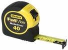 "Stanley 33-740  40' x 1-1/4"" FatMax Tape Measure with Blade Armor Coating"