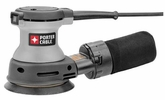 "Porter Cable 382  5"" Random Orbit Sander - 8 Hole Hook and Loop"