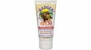 Badger SPF 30 Unscented Natural Water Resistant Sunscreen Sunscreen - 2.9-oz Tube