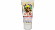 16 Count Display of Badger SPF 30 Unscented Natural Water Resistant Sunscreen Sunscreen - 2.9-oz Tubes