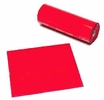 "C.H. Hanson 10490  12"" x 12"" Red Lumber Warning Flag - 300 per Roll"