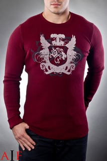 Sweater Red Thermal