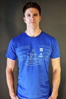 T-Shirt BluePrint Cyrus Tomb