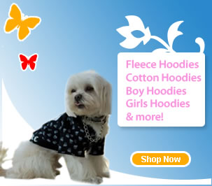 Designer Dog Hoodies