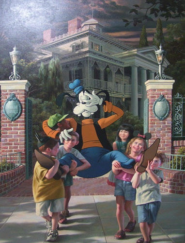 Rescue of Goofy by Bob Byerley