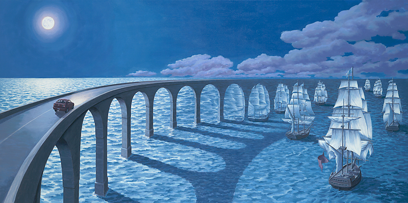 Toward the Horizon by Rob Gonsalves