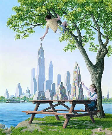 Table Top Towers by Rob Gonsalves