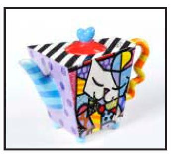 Teapot by Romero Britto