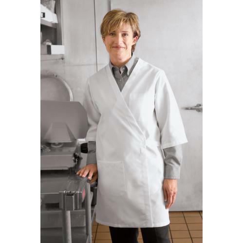 Collarless Butcher Wrap by Red Kap®