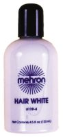 STMP355<br>Stage Makeup<br>Hair White<br>4.5 oz.<br>White or Silver