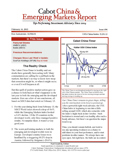 all financial newsletters
