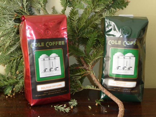 Holiday Coffee Valve Bags
