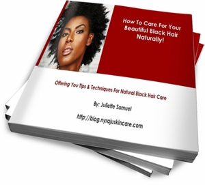 eBook - How To Take Care Of Your Beautiful Black Hair, Naturally!
