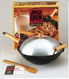 Joyce Chen 4-Pc Flat Bottom Wok Set: Nonstick