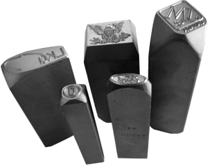 Custom Steel Hand Stamps