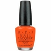 OPI Atomic Orange Nail Polish NLB39