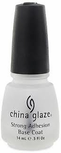 China Glaze Strong Adhesion Base Coat .50 oz.