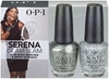 OPI Serena Glam Slam England Your Royal Shineness & Servin Up Sparkle
