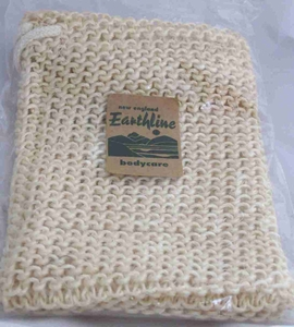 New England Naturals Earthline Exfoliating Sisal Soap Saver Bag