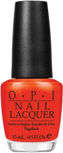 OPI Red Lights Ahead...Where? Nail Polish NLH61
