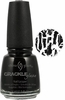 China Glaze Black Mesh Nail Polish 980