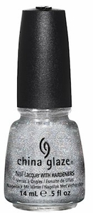 China Glaze Glistening Snow Nail Polish 1118