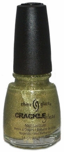 China Glaze Jade-d Crackle Glitter Nail Polish 80557