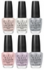 OPI New York City Ballet Collection, Softshades Spring 2012