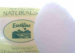 New England Naturals Deep Facial Cleansing Buffing Sponge