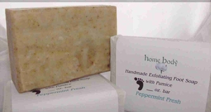 Home Body Exfoliating Foot Soap with Pumice