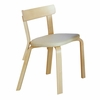 Artek Alvar Aalto - Chair 69 - Birch Legs with Upholstered Seat