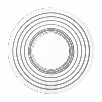 Iittala Aino Aalto Clear Salad Plate - Set of 2 - Click to enlarge