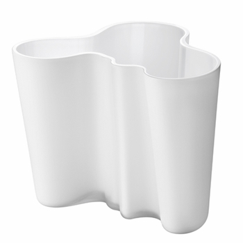 Iittala Aalto Frosted Vase � 6-1/4� - Click to enlarge