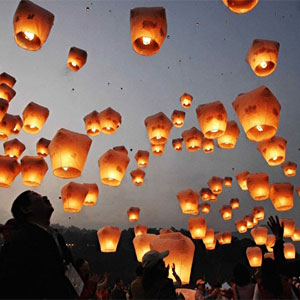 CHINESE FLYING LANTERN