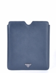 Prada Saffiano iPad 2 and iPad 3 Sleeve Case 2ARD64 - Blue