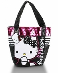 Hello Kitty Polka Dot Sequins Tote