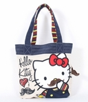 Hello Kitty Mustache Tote