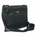 Prada Messenger Bag BT0420 - Black Vela Nylon