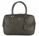 Prada Small Saffiano Doctor Bag BL0095 - Brown