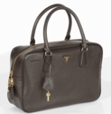 Prada Saffiano Leather Doctor Bag BL0094 - Brown