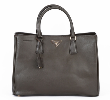 Prada Saffiano Leather Handbag BN1844 - Brown
