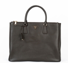 Prada Saffiano Leather Handbag BN1786 - Brown