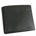 Prada Men's Leather Wallet M513 - Black