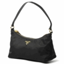 Prada Small Tessuto Handbag 1N1413 - Black