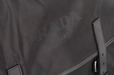 Prada Nylon Messenger Bag VA0642 - Black