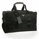 Prada Duffel Travel Bag V70S - Black