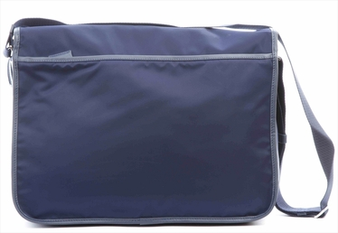 Prada Large Messenger / Laptop Bag V165 - Blue
