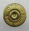 8 MM Mauser Once Fired Brass 250 count- Out of Stock