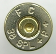 38 Special Once Fired Nickel Brass 500 count