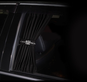 Junction Produce Luxury Curtain (Black)(Med)